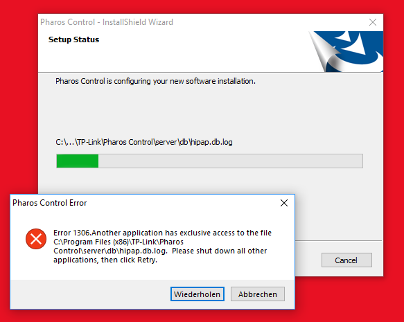 Pharos Control Software fails with W10 - TP-Link SMB Community