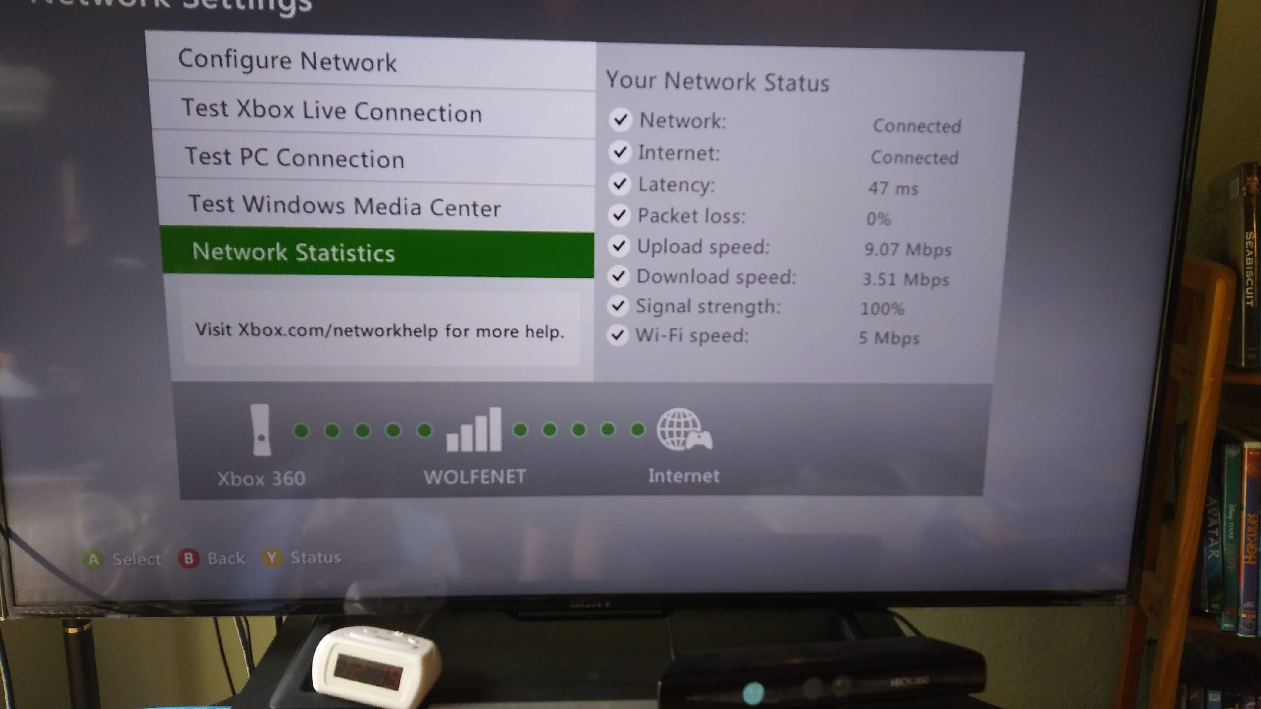 Xbox 360 slow over wireless - TP-Link SOHO Community