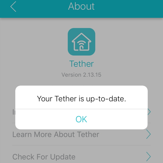 iOS TP-Link Tether App not working with Archer C1200v1