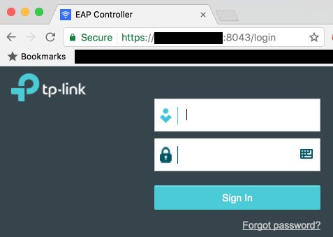 Hacking a valid cert into the EAP controller software - TP